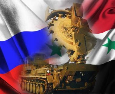 تبادل الخبرات  في مجال الهندسة العسكرية بين روسيا وسوريا