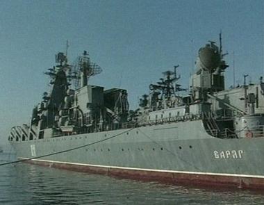 سفينة قائدة للبحرية الروسية تزور الصين