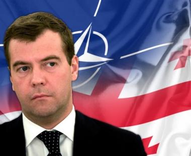 مدفيديف: قرار الناتو بإجراء مناورة في جورجيا وخيم العواقب
