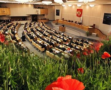 النواب الروس يدعون المجتمع الدولي الى التصدي لخطر المخدرات الأفغانية
