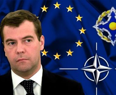 روسيا ترفض اعتماد توسع الناتو كنظام وحيد للحفاظ على الامن الاوروبي