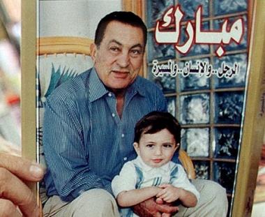 وفاة حفيد الرئيس المصري مبارك