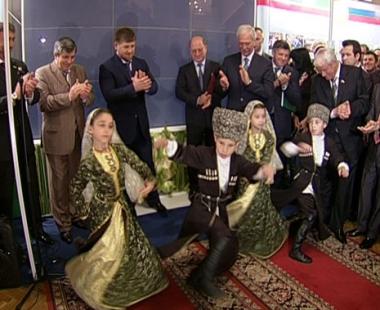 إفتتاح ايام جمهورية الشيشان في مجلس الدوما الروسي