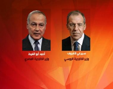 الوضع في الشرق الاوسط في صلب محادثات وزيري خارجية روسيا ومصر