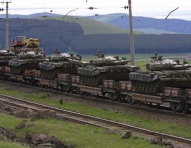 روسيا تصر على فرض الحظر على إمدادات الأسلحة الهجومية إلى جورجيا