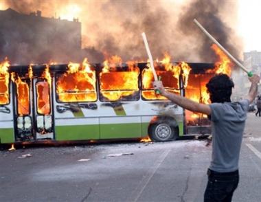 بان كي مون يدعو إلى وقف العنف في إيران