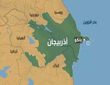 تحطم مروحية أذربيجانية في بحر قزوين