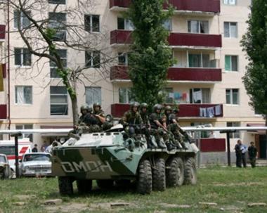 إصابة 7 شرطيين في انفجار بالشيشان