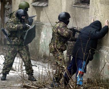 عمليات أمنية خاصة للقضاء على المتمردين في القوقاز
