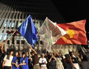 المعارضة القرغيزية تطالب بإلغاء نتائج الإنتخابات الرئاسية في البلاد