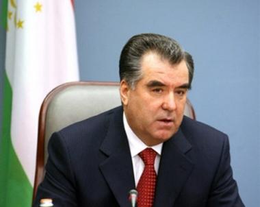 الرئيس رحمان: لدى طاجيكستان وباكستان مواقف قريبة في مكافحة الارهاب