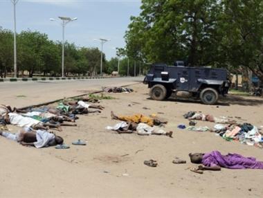 استئناف المواجهات بين الشرطة النيجيرية والمتمردين الاسلاميين عقب مقتل زعيم جماعة