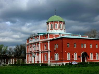 مبنى المتحف في كرملين مدينة تولا