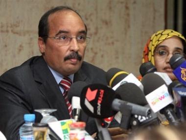 ولد عبد العزيز يؤدي اليمين رئيسا لموريتانيا