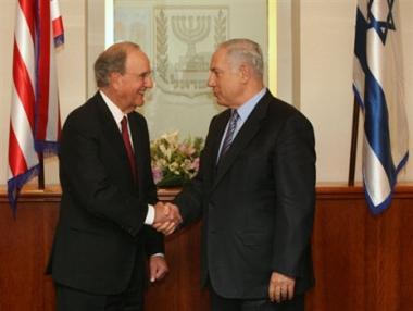 ميتشل يطلب من اسرائيل وقف الاستيطان لعام واحد