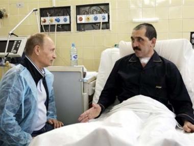 الرئيس الانغوشي يغادر المستشفى ويأمل في العودة الى العمل بعد أسبوع