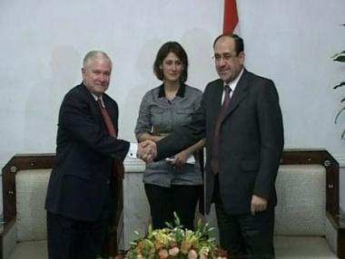 الحكومة العراقية  تقر الاستفتاء حول الاتفاقية الأمنية مع واشنطن
