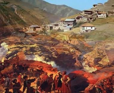 تاريخ الشيشان: حروب القوقاز في القرن التاسع عشر والتهجير في القرن العشرين