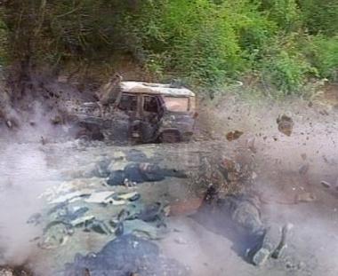 مصرع 3 رجال شرطة انغوشيين وجرح اثنين آخرين في تفجير عبوة ناسفة