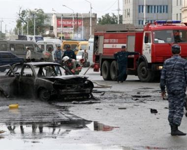 إصابة 2 من عناصر الشرطة بجروح في انفجار بالشيشان