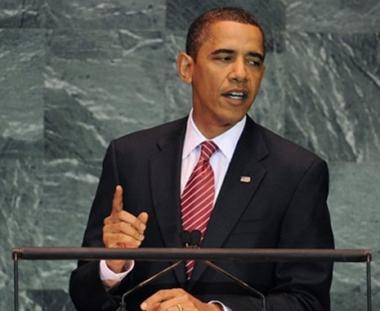 أوباما: الولايات المتحدة ستواصل العمل لإحلال سلام شامل وعادل بين الفلسطينيين والإسرائيليين