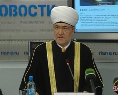 المفتي عين الدين : الشراكة بين روسيا والعالم الاسلامي تمثل حتمية تاريخية