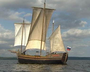 صناعة السفن الخشبية في جمهورية كاريليا بشمال روسيا