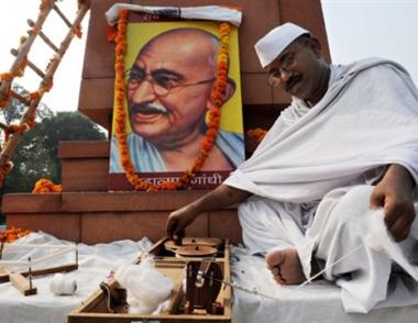 ذكرى مولد غاندي.. دعوة أممية لنبذ العنف
