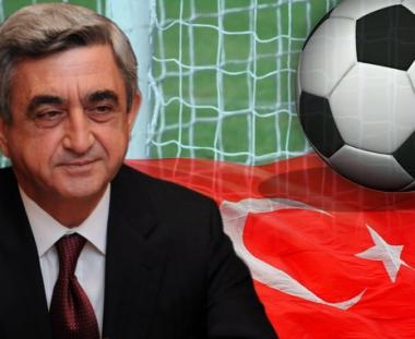 الرئيس الارمني ينوي التوجه الى تركيا لحضور مباراة كرة القدم بين منتخبي البلدين