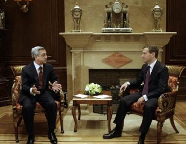 ارتياح في روسيا وأرمينيا لطبيعة العلاقات الثنائية