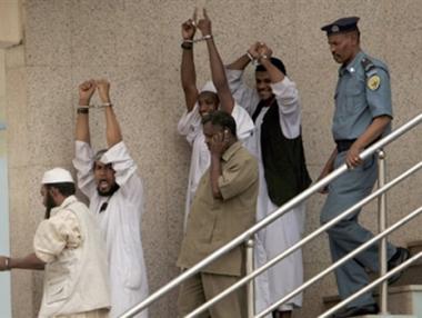 الحكم بالاعدام على أربعة سودانيين بتهمة القتل