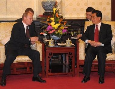بوتين يقيم عاليا نتائج زيارته الى الصين