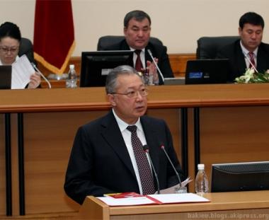 الحكومة القرغيزية تقدم استقالتها