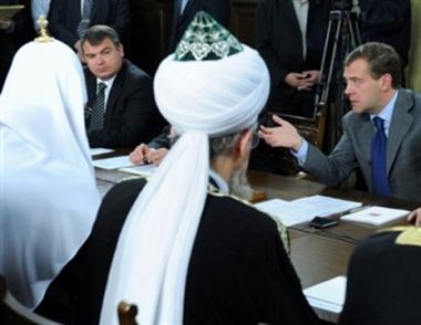 تقرير امريكي: الحكومة الروسية تحترم حقوق معتنقي الديانات المختلفة