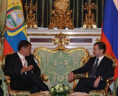 روسيا والاكوادور توقعان اتفاقية الشراكة الإستراتيجية بين البلدين