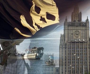 وزارة الخارجية الروسية  تتأكد من جنسية بحارة اختطفهم القراصنة