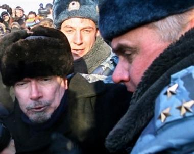 اعتقال 50 شخصا من المشاركين في مظاهرة غير مرخص بها  بوسط موسكو