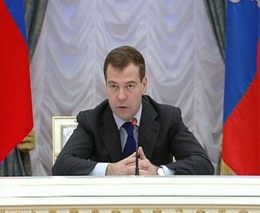 مدفيديف: القوات المسلحة الروسية ستستخدم خارج البلاد في الحالات الاستثنائية فقط