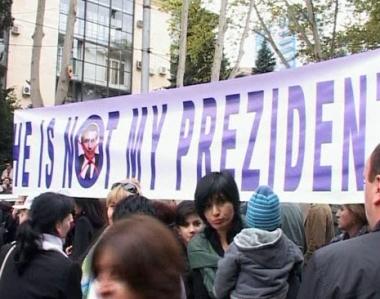 المعارضة الجورجية: سنحارب نظام سآكاشفيلي حتى النصر
