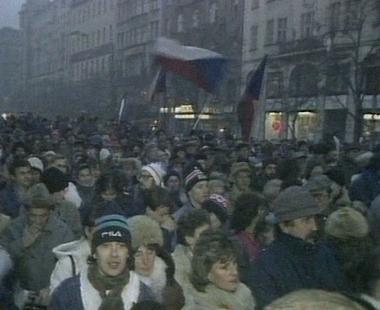 الذكرى العشرون للثورة المخملية في تشيكوسلوفاكيا السابقة