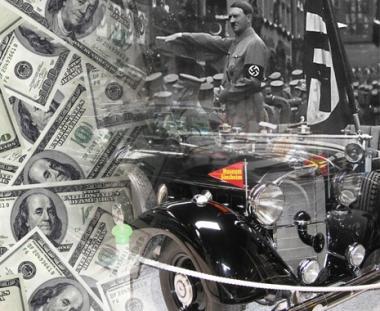 ملياردير روسي يشتري سيارة مرسيدس كانت تعود الى هتلر