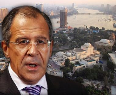الخارجية الروسية: لافروف يلتقي في القاهرة مبارك وعمرو موسى
