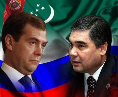 الشق الاقتصادي يهيمن على زيارة مدفيديف الى تركمانستان