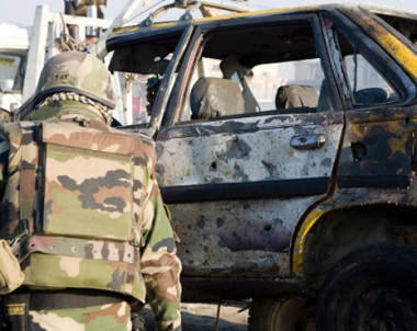 مصرع 5 جنود امريكيين و4 افغان في هجوم انتحاري بافغانستان