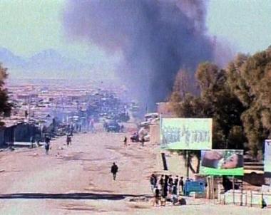مصرع 20 شخصا على الأقل في تفجير انتحاري وسط أفغانستان