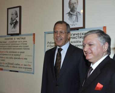 لافروف:لا ركود في تسوية قضية اقليم قره باغ