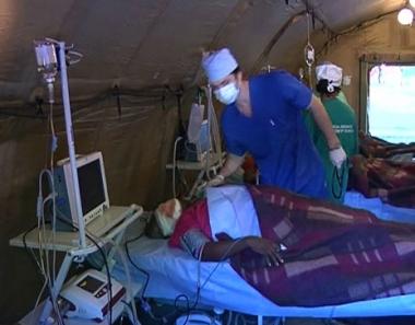 وحدات الإنقاذ الروسية في هايتي تعثر على 6 أحياء تحت الأنقاض في بورت أو برينس