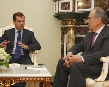 الرئيس التتري الحالي منتيمير شايمييف يرجو من الرئيس الروسي عدم ترشيحه لرئاسة تترستان لولاية جديدة