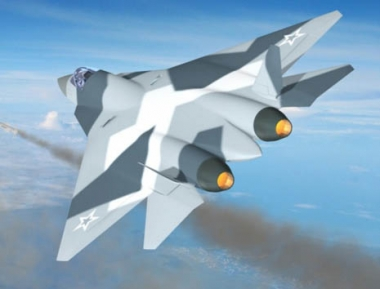 مقاتلة الجيل الخامس الروسية في الجو لأول مرة