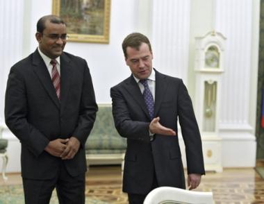 مدفيديف: تعاون روسيا مع دول الكاريبي يتسم باهمية كبيرة بالنسبة الى توازن القوى في العالم